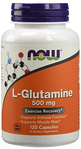 L-Glutamine, 500 mg, 120 capsule – Now Foods - 41BGzXwMtxL