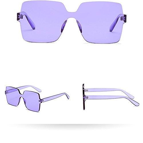 Laile_ Sonnenbrillen Großer Rahmen Klar Gläser Unisex Mode Brille Sommer Rechteckig Dekobrillen Klassische schöne Sportbrille günstige Persönlichkeit Weinlese Fahrradbrille