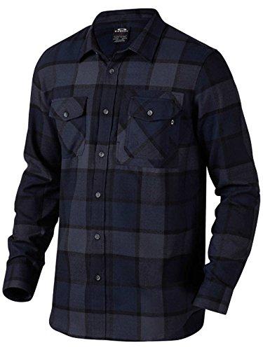 OAKLEY ADOBE WOVEN SHIRT FATHOM CAMICIA FW (Oakley Woven Shirt)