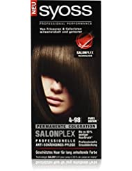 Syoss Haarfarbe, 4-98 Paris Brown, 3er Pack (3 x 115 ml)