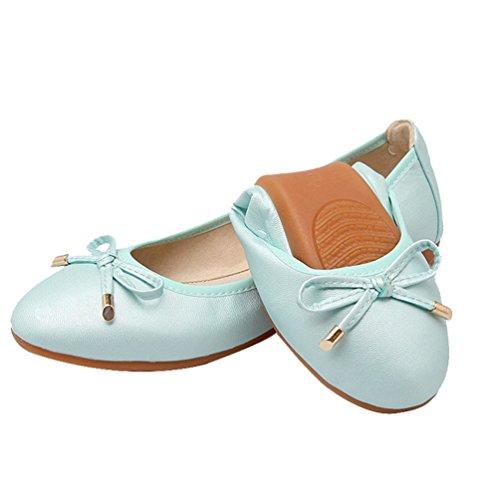 Chaussures plates, chaussures de sport maternité Bleu