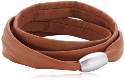 Xen Damen Armband Edelstahl Leder 51607526G3