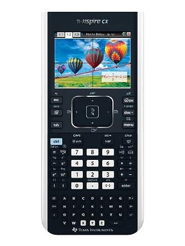 TEXAS Calculatrice Scientifique TI-NSPIRE CX Mode Examen intégré