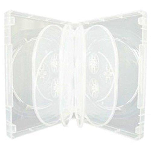 5x CD/DVD/Blu-Ray Transparent 3...