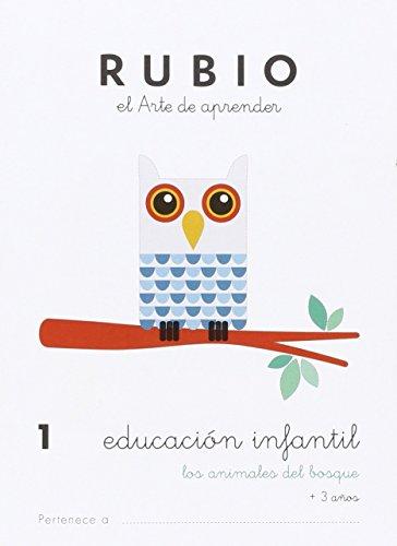 EDUCACIÓN INFANTIL 1: LOS ANIMALES DEL BOSQUE - 9788415971818
