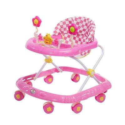 FUG Baby-Wanderer mit leicht zu reinigenden Schal, Universalrad Gehhilfe, Rollfest Klapp Rollator