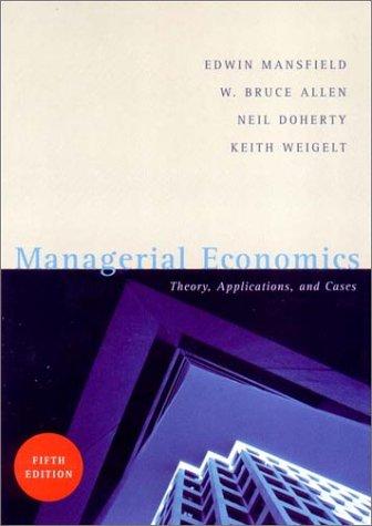 Managerial Economics 5e