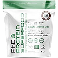 PhD Vegan Protein Superfood, Chocolate 1kg