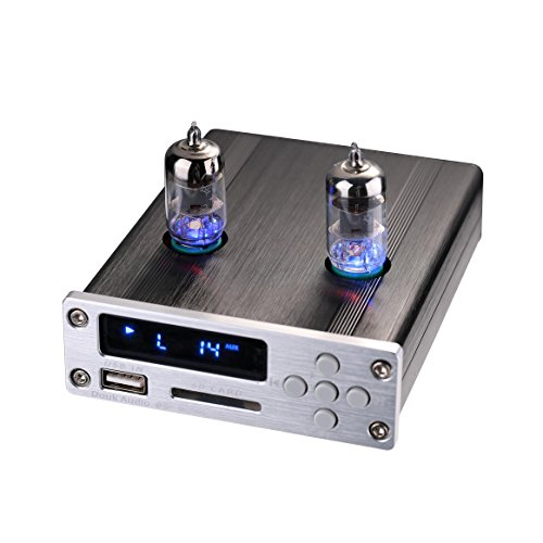 Remote Speaker-schalter (Nobsound HiFi Stereo APE FLAC Lossless Music Player; Vlave Vacuum Tube Preamplifier; USB/SD/AUX Speaker Preamp with Remote Controller for Home/Car Audio System Vorverstärker (with tubes, Silver))