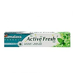 Himalaya Herbals Active Fresh Gel Toothpaste 80GM (Pack of 3)