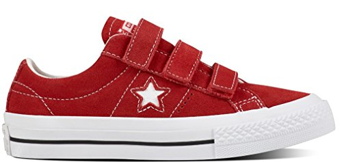 Converse 656133c, Scarpe Outdoor Multisport Unisex – Bambini Multicolore (Red/White/Black)