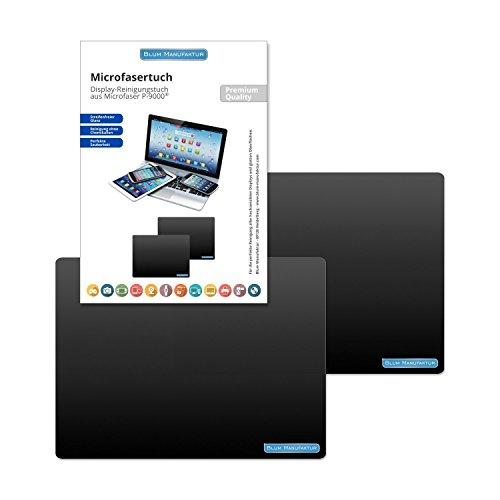 Preisvergleich Produktbild Blum - 2x Display-Reinigungstuch 24x18 cm - Streifenfreie Reinigung aller Bildschirme / Displays für Computer / Laptop / Tablet / TV / Smartphone ...