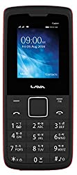 Lava Captain K1+ (Black-Red)