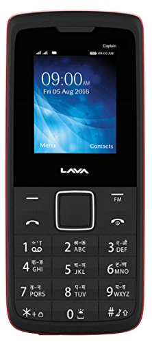 Lava Captain K1+ (Black-Red) offer