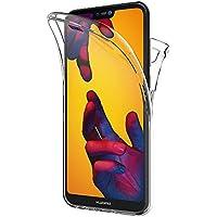 AICEK Funda Huawei P20 Lite, Transparente Silicona 360°Full Body Fundas para Huawei P20 Lite Carcasa Silicona Funda Case (5,84 Pulgadas)