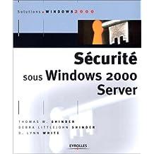 Sécurité sous Windows 2000 Server