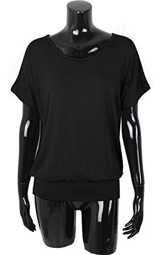 Emma & Giovanni T-Shirt/Oberteile Kurzarm - Damen Schwarz