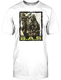 SAS - Special Air Service Soldier Raid Mens T Shirt - Military
