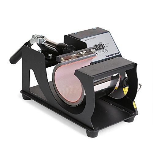 Lartuer Transferpresse Tassenpresse Heat Press Machine für zylindrische und konische Tassen 2 in 1 Digitale Zeitregelung und Temperaturüberwachung (2 in 1 Tassen) - 3