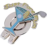 Segolike 1 Piece Golf Hat Clip Ball Marker Cap Clip Golf Gift Durable - B074MMX8R2