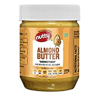 Nutty Natural Almond Butter 200gm