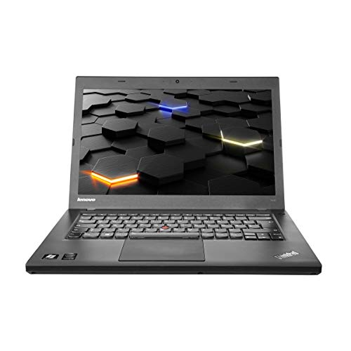 Lenovo ThinkPad T440 Intel Core i5 1,9 8 500SSD 14 Zoll 1600 x 900 BL WLAN CR Win10 (Zertifiziert und Generalüberholt) (Laptop-core I3 Refurbished)