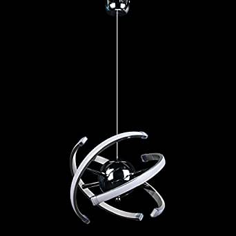 ELINKUME LED Pendelleuchte Modular Design Hänge Lampe Lesezimmer
