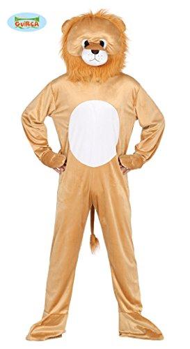 Imagen de disfraz de león cabezón para adultos