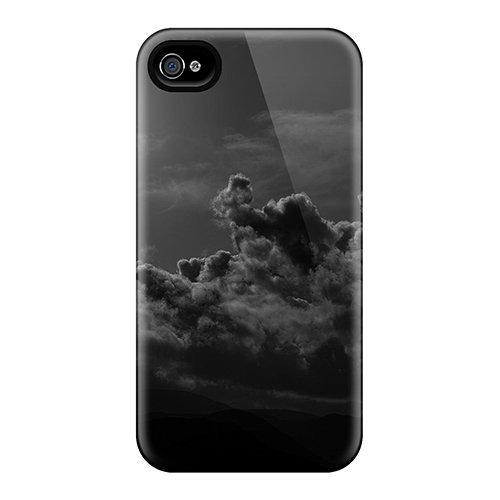 Awesome Design Full Moon Clouds Hard Case Cover For Iphone 4/4s