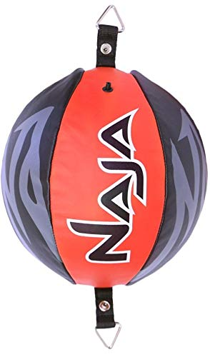 Naja Double End Ball Speed Bag Leder Boxball Dodge Striking Punching MMA Training -