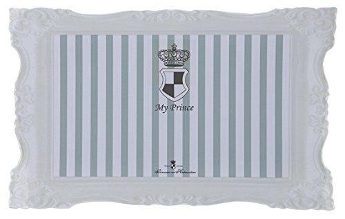 Trixie My Prince Napfunterlage, 44x28 cm, grau/weiß