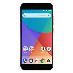 "Xiaomi Mi A1 - Smartphone 5.5 Free"" (4G, WiFi, Bluetooth, Snapdragon 625 Octa Core, 32 GB, 4 GB RAM, Android One), Red"