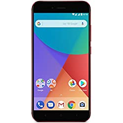 "Xiaomi Mi A1 - Smartphone Libre DE 5.5"" (4G, WiFi, Bluetooth, Snapdragon 625 Octa Core, 32 GB de ROM Ampliable con microSD, 4 GB de RAM, Cámara Dual DE 12 MP, Android One, modos GSM compatibles: bandas B2, B3, B5, B8), Rojo [Versión Española]"