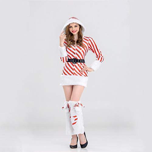 CVCCV Weihnachtskostüme Katze Bunny Party Performance Kostüme Weihnachtskugel Partykostüme Halloween Kragen Kostüme Polyestergewebe