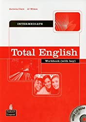 Total English Intermediate Workbook with Key and CD-Rom Pack: Workbook Self Study Pack with Key and CD-ROM by Antonia Clare (2006-02-09)