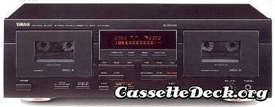 Yamaha KX-W392 Double Cassette Deck