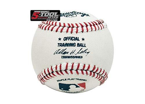 Rawlings 5-Tool Triple Play Training Baseball - 9 inch (Training-tools Baseball)