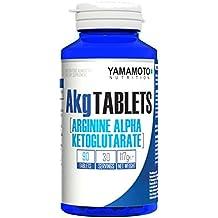 Yamamoto Nutrition AKG TABLETS integratore alimentare di arginina alfa chetoglutarato 90 compresse