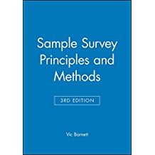 Sample Survey Principles and Methods 3e