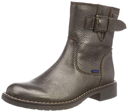 Richter Kinderschuhe Mädchen Mary Biker Boots, Braun (Bronze 9510), 35 EU