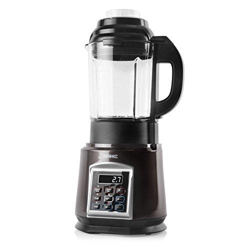 Duronic Soup Maker BL91 Steamer Blender 1000W Automated Glass Jug Soup and Smoothie Maker