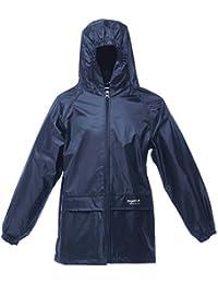 Regatta Kids Boys and Girls Stormbreak Lightweight and Waterproof Rain Jacket