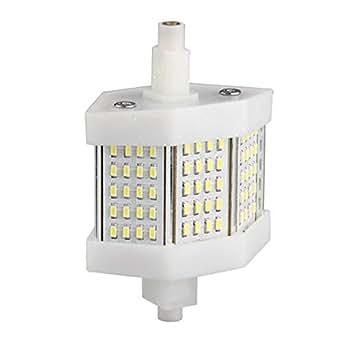 ecloud shop r7s ampoule spot 3014 smd 60 leds blanc nature 78mm 6w 600lm luminaires. Black Bedroom Furniture Sets. Home Design Ideas