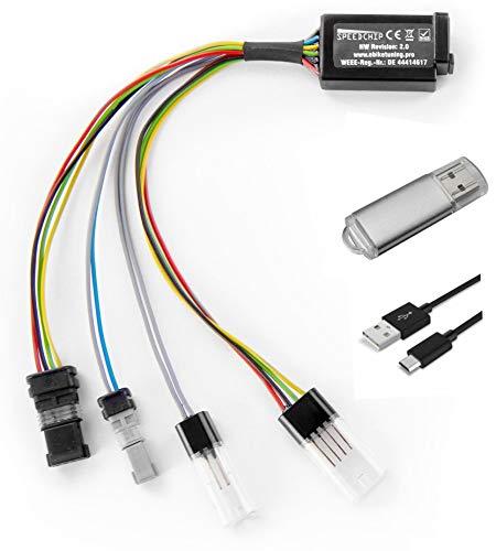 RF Works GmbH Speedchip Tuningmodul V2.0 für Bosch E-Bike Systeme Tuning Set inkl. USB Kabel und Software