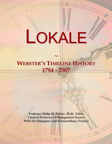 lokale-websters-timeline-history-1784-2007