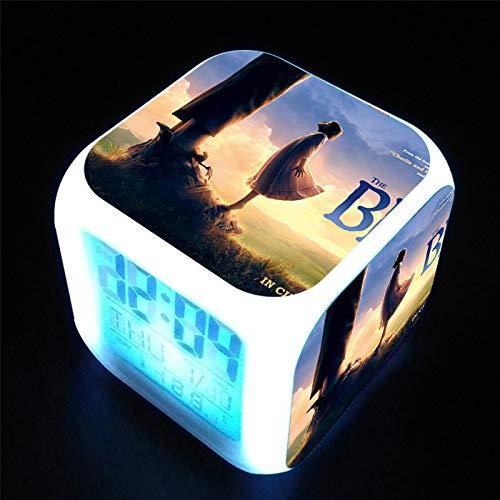 Dream Riese Nachtlicht Multifunktions Bunte Farbe Nachtlicht kreative Nacht quadratischen kleinen Wecker ()