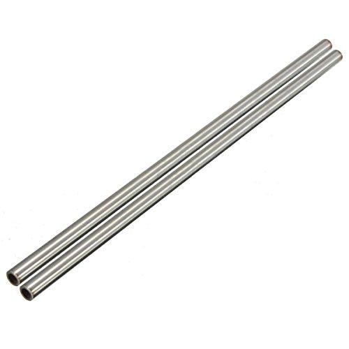 2 x 304 Edelstählen Kapillarrohr Rohr OD 8mm ID 6mm Länge 250mm