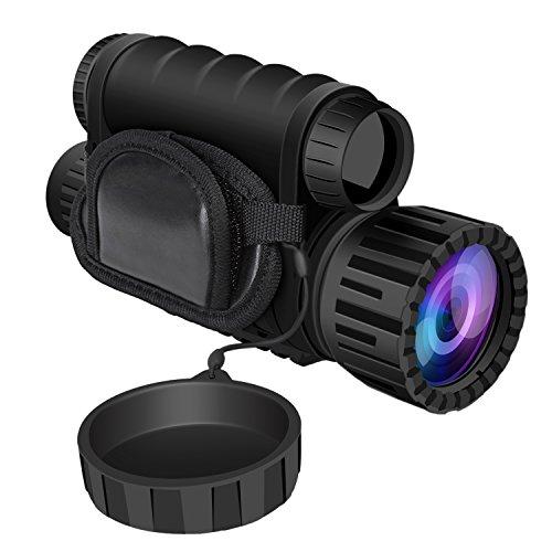 HD Digital Nachtsichtgerät,Bestguarder NV Nachtsichtgerät mit 5MP 6x50 HD Nacht Fernglas...