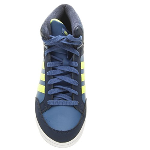 check out bf5ed dd4b2 Adidas Neo HOOPS MID K sneakers navy scarpe bambino BB9946