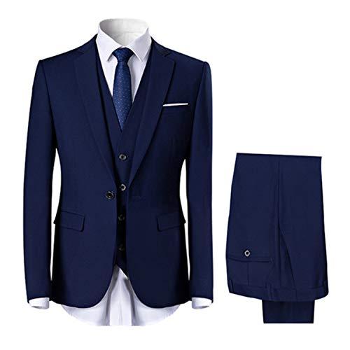 Allthemen Herren 2-Teilig Anzug Slim Fit für Hochzeit und Party -